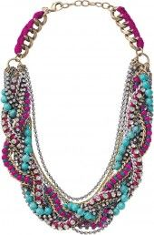 turquoise and hot pink - PRETTY