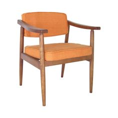 Whether you prefer to indulge yourself with an evening scotch or hour of nightly reading, this charming chair is poised to make the perfect companion. This handsome mid-century-inspired Hawthorne Armch...  Find the Hawthorne Armchair, as seen in the  #LongitudesOfStyle  Collection at http://dotandbo.com/collections/longitudesofstyle?utm_source=pinterest&utm_medium=organic&db_sku=112649