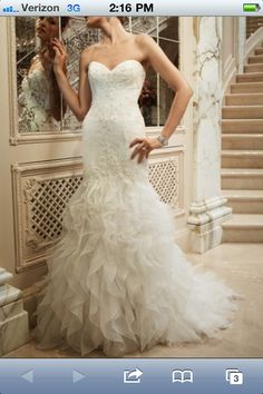 Casablanca 2096 fit to flare lace
