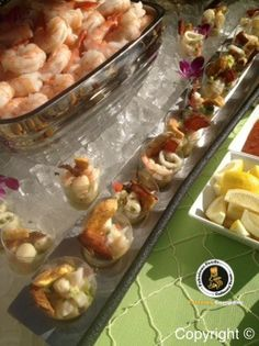 Seafood Shooters!