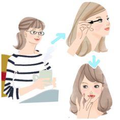 いいね!12件、コメント2件 ― Takakoさん(@takako_illustrator)のInstagramアカウント: 「先ほどの仕事イラストで遊んでみた「ビフォアフ」 普段ほぼ左側で過ごしてるワタクシ」
