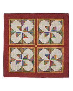 Additional Images of Curvy Log Cabin Quilts by Jean Ann Wright - ConnectingThreads.com