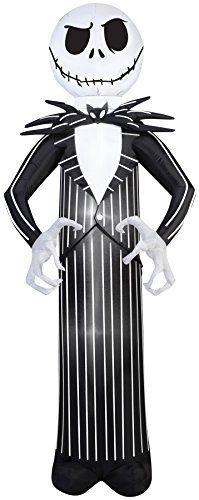 Outdoor Holiday Decorations - Airblown Inflatable Jack Skellington *** More info could be found at the image url. (This is an Amazon affiliate link)