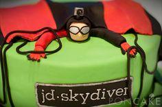 Skydiving Cake - Torta de Paracaidista
