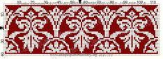 Crochet Diagram, Crochet Chart, Thread Crochet, Filet Crochet, Cross Stitching, Cross Stitch Embroidery, Cross Stitch Patterns, Knitting Patterns, Embroidery Books