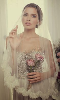 Love the dress!!   FAQs: How to Select the Perfect Bridal Veil for Your Wedding Dress