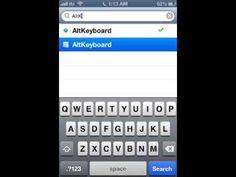How to install AltKeyboard tweak for free