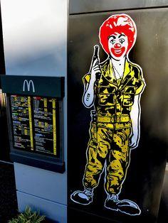 Ronald Mc Donald by OZI