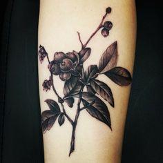 Bog Bilberry Tattoo