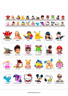 Qui est-ce 'Jouets' / Guess who 'Toys' + Extras Disney Character Names, Disney Characters, Printable Halloween Decorations, Marvel Dc, Film Disney, Level Up, Lego, Jouer, Games For Kids