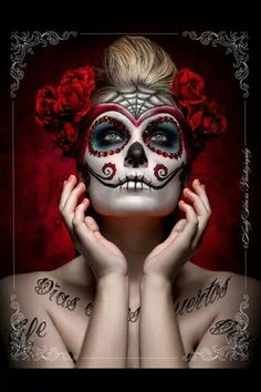 .Skeletons in my closet ~ red, black, white skull & body candy