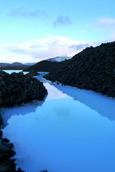 Blue Lagoon View at Entrance - Courtney Shannon Strand - 2011