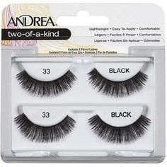 0501ded37d8 Andrea 33 black (Twin Pack) #Eye #EyeLashes #Andrea #AndreaLashes #