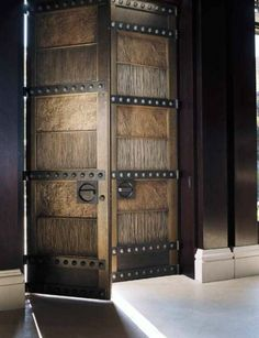 Search for our thousands of Interior Wood Doors available in a variety of designs, styles, and finishes. Door Entryway, Entrance Doors, Foyer, Front Doors, Door Gate Design, Front Door Design, Cool Doors, Unique Doors, Home Blogs