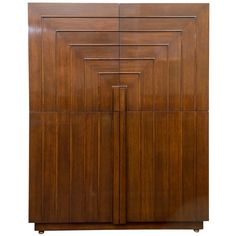 T.H. Robsjohn-Gibbings Cabinet | From a unique collection of antique and modern cabinets at https://www.1stdibs.com/furniture/storage-case-pieces/cabinets/