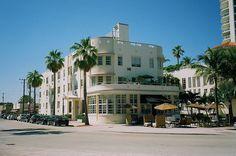 *マイアミビーチの見所* アールデコ歴史地区