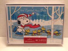 Hallmark Espanol Spanish Peanuts Snoopy Christmas Cards Sinceramente Woodstock    eBay