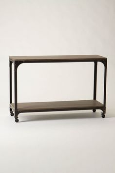 Anthropologie Decker Console Table. $398. Could we build it?