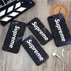 ブランド iphone8 ケース シュプリーム 綺麗 iphoneX supreme カバー 夜空 個性 マット素材 石柄 ユニーク アイフォン8 ハードケース 二色
