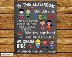 Image result for teacher name signs canvas superhero