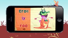 iMix- Scramble words, a creative game for kids ($1.99) a creative game that improves children's reading, writing and pronouncing skills in an imaginative playful and amusing manner.   By mixing and matching parts of different characters and the syllables attached to them, children can create over 2000 new comic characters with funny new names.   Touching each syllable will pronounce it, while the large speaker icon pronounces the full name of each character.