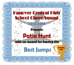 Clip art cheer certificate for cheerleading cheerleading award sample of one of our fun cheer award certificates that the team votes on for our yelopaper Images