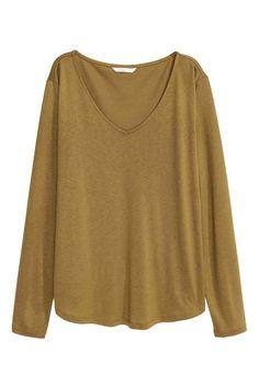 V-neck jersey top | H&M