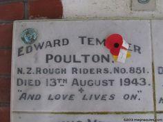 Edward Templer POULTON's 851 - ashes memorial | Flickr - Photo Sharing!