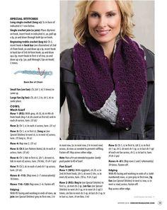 Crochet! 2016 Winter - 轻描淡写 - 轻描淡写 Cowls, Scarfs, Crochet, Fashion, Moda, Scarves, Fashion Styles, Chrochet, Fasion