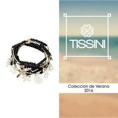 ¡Brilla y deslumbra a tu paso este verano! Consigue este hermoso brazalete en https://www.tissini.com/comprar/coleccion-thalia/235-thalia-pulsera-5-negras.html #summer #moda #fashion