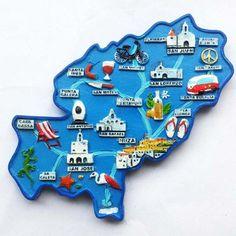 Spain souvenir Fridge Magnet