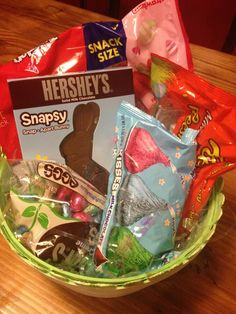 Tween Easter basket ideas: Less toys = more awesome.