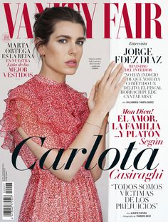 Charlotte Casiraghi in Vanity Fair Espana - September 2016 edition