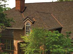 Barkwood #gaf #designer #roof #shingles #home
