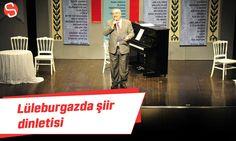Kırklareli'nin Lüleburgaz ilçesinde belediyenin organize ettiği etkinlik de Aşkiye-Neşet Çal sahnesinde şiir dinletisi yapıldı. #lüleburgaz #şiirdinletisi #kadınyılıetkinlikleri