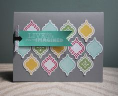 Stampin Up! Artisan Design Team - June - Mosaic Madness & Really Good Greetings - Amy Bollman