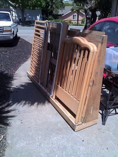 A basic plywood caddy made from reclaimed lumber: http://wood159.tumblr.com/post/133342682488/plywood-caddy