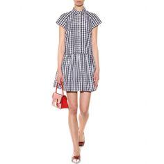 mytheresa.com - Gingham dress - short - dresses - clothing - Luxury Fashion for Women / Designer clothing, shoes, bags