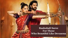 Baahubali Saree - The Next Fashion In India - Buy Online