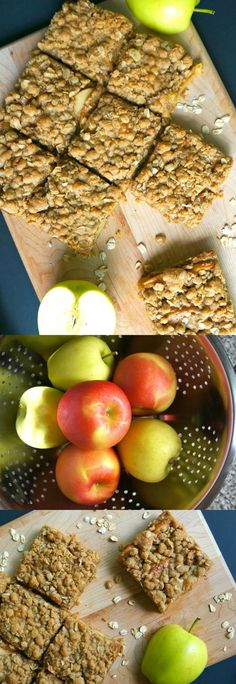 OMG this apple cinnamon oatmeal bars recipe is amazing! Made with raw oats and fresh fall apples, these oat bars are pretty easy to make. Top with vanilla ice cream, yum!