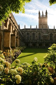 Magdalen College, Oxford, England. Saw the famous Hogwarts dining hall from the outside. Also saw the famous garden inspiring Alice in Wonderland and college where Charles Dodgson taught.
