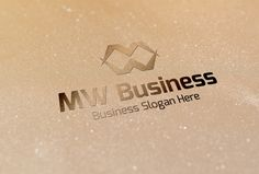 Check out MW Business Style Logo by BDThemes Ltd on Creative Market