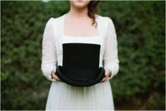 Mr Darcy Top Hat Pride and Prejudice Wedding Inspiration by Shannon Morse Photography #prideandprejudice