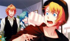 Tags: Scan, Self Scanned, Broccoli, Official Art, Uta no☆prince-sama♪, Shinomiya Natsuki, Kurusu Shou, Mikaze Ai, Uta no Prince-sama Debut O...