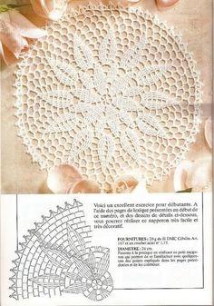 - 1000 Mailles Nomero special hors-serie Methode et technique - WhiteAngel / ? - 1000 Mailles Nomero special hors-serie Methode et technique - WhiteAngel Filet Crochet, Mandala Au Crochet, Crochet Doily Diagram, Crochet Circles, Crochet Doily Patterns, Crochet Chart, Thread Crochet, Crochet Motif, Crochet Round