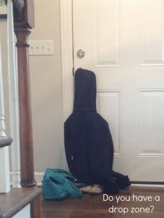 Declutter Your Entryway (i.e. Drop Zone)