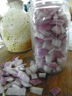 Onion Syrup Remedy- makes use of Onions antibiotic qualities as well as its expectorant and antispasmodic qualities.
