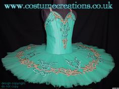 TURQUOISE tutu suitable for Le Corsaire , La Bayadere ballets, and competition