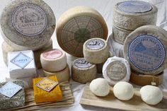 To eat cheeses of Catalonia, Spain!