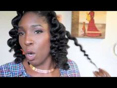 ▶ HEATLESS CURLS WITH BANTU KNOTS | Great for all hair types - YouTube